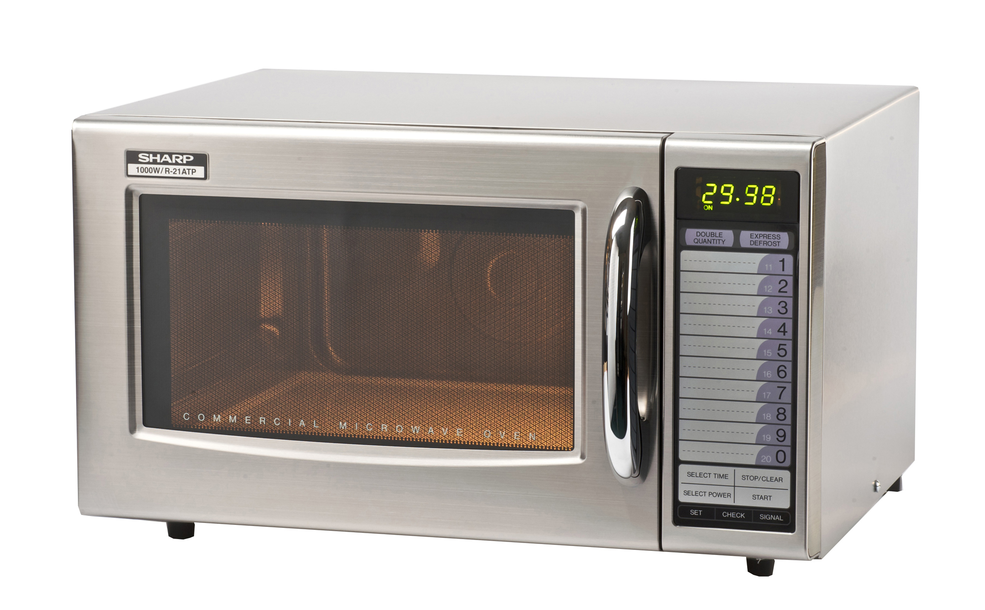 Sharp R21AT 1000 W Commercial Microwave
