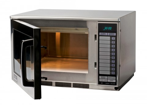 Sharp R24AT Extra Heavy Duty Microwave Oven