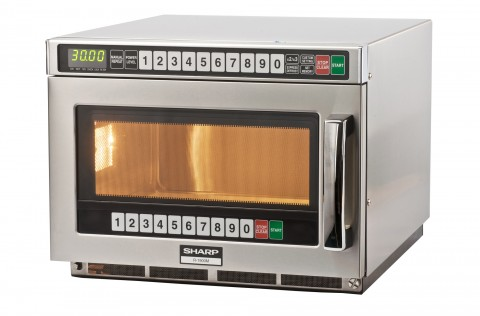 Sharp R-1900M commercial microwave