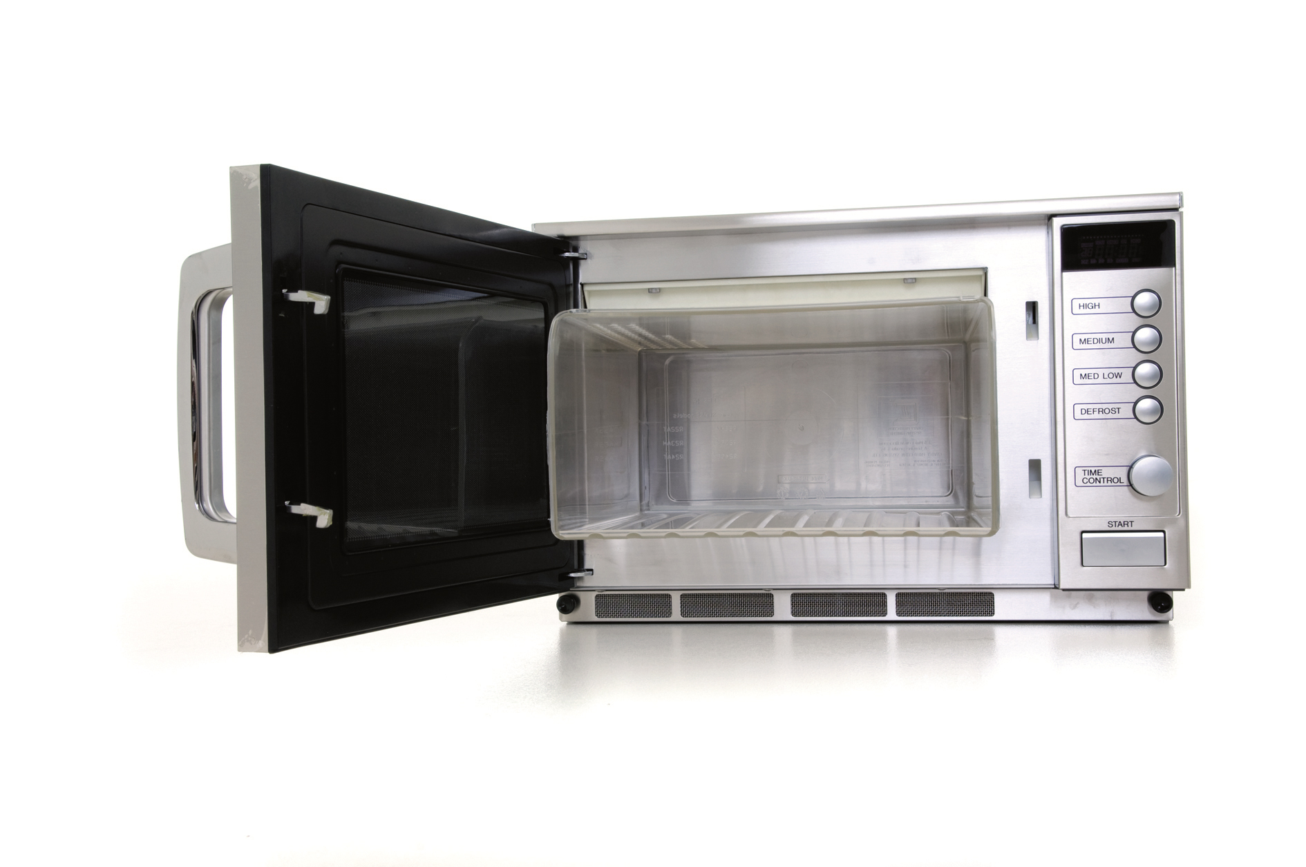 Sharp R 23am 1900w Commercial Microwave With Cavity Liner